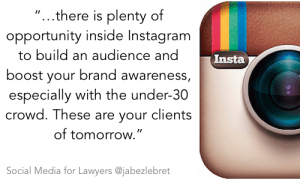 Instagram - SM for Lawyers