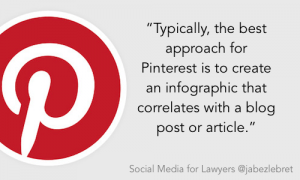 Pinterest - SM for lawyers