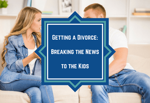 Getting A Divorce How To Tell The Kids