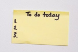 three most important tasks for today