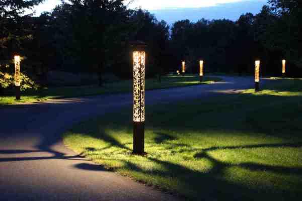attraction lights driveway lighting