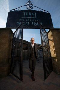 Entrance to Derren Browns Ghost Train - Thorpe Park