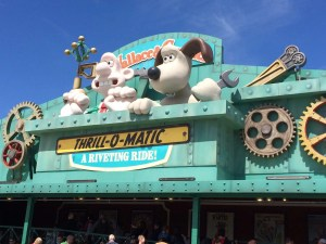 Wallace and Gromit's Thrill-O-Matic - Blackpool Pleasure Beach