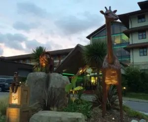 Chessington World of Adventures Resort - Hotel Entrance