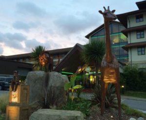 Chessington World of Adventures Resort - Hotel Entrance