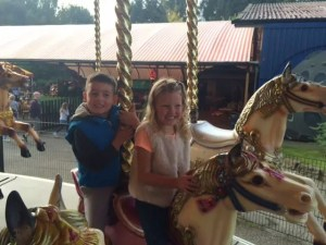 Lightwater Valley Theme Park - Carousel