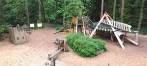 Woodland Adventure Playground - Thorp Perrow Arboretum Wildlife Park