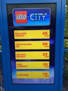 Legoland Windsor Resort - Ride Wait Times