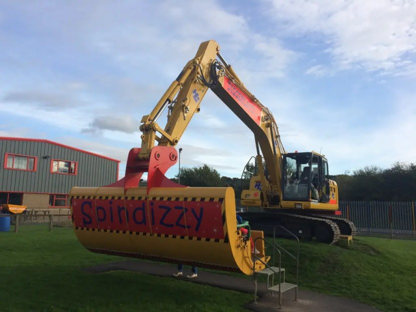 Diggerland Spindizzy