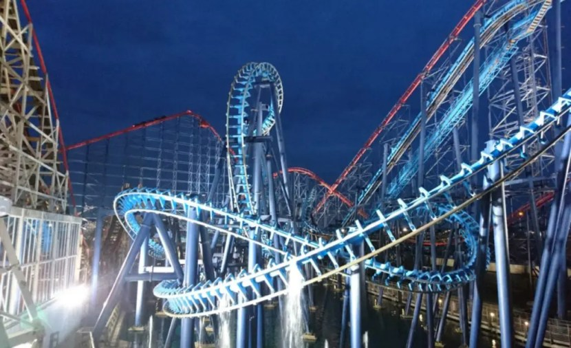 Blackpool Pleasure Beach - Infusion