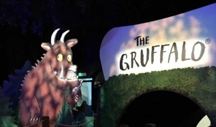 Chessington World of Adventures Resort - The Gruffalo