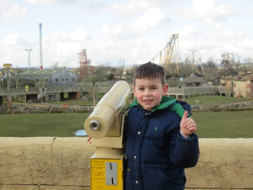 Flamingo Land - Thumbs Up