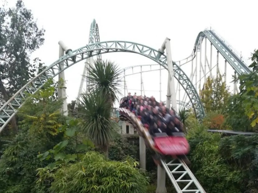 Colossus Rollercoaster - Thorpe Park