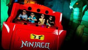 LEGOLAND Windsor Resort - NINJAGO Ride