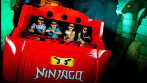 LEGOLAND Windsor Resort - NINJAGO Ride