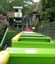Greenwood Family Park - Green Dragon - People Powered Roller Coaster