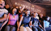 Tower of Terror Ride at Disneyland