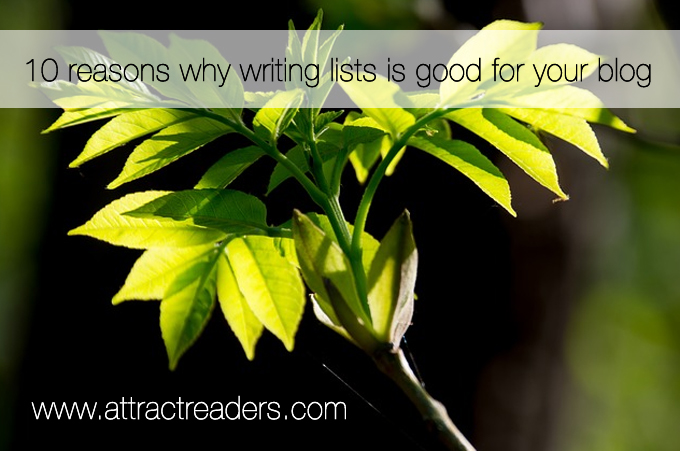 writing list posts