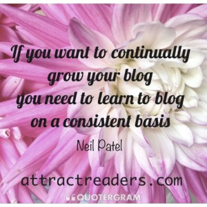 continuously grow your blog