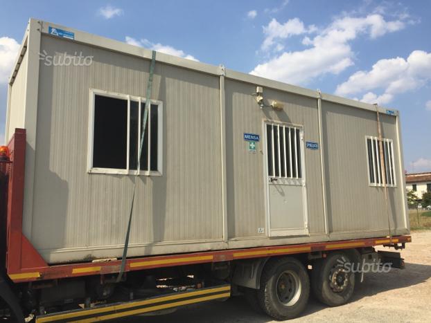Container Ufficio Usati Subito : Monoblocchi coibentati usati come nuovi da mt a mt in vendita