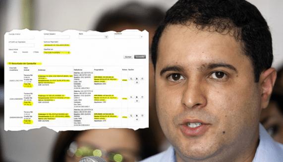 Documento mostra que Edivaldo escondeu bens da Justiça Eleitoral