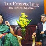 Nandan Nilekani and Indra Nooyi in conversation