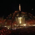 U2 live Pasadena Rose Bowl and YouTube