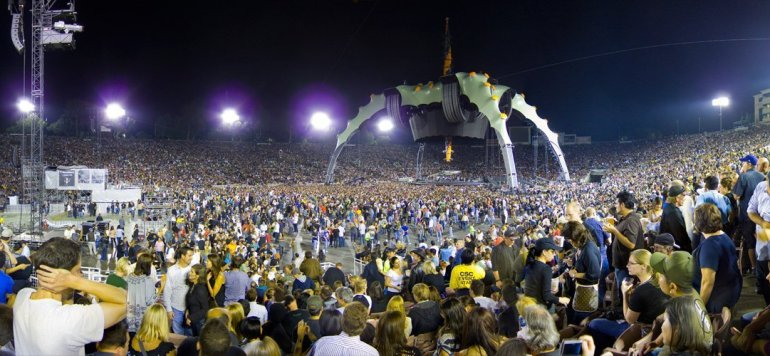 U2 Rose Bowl Pasadena