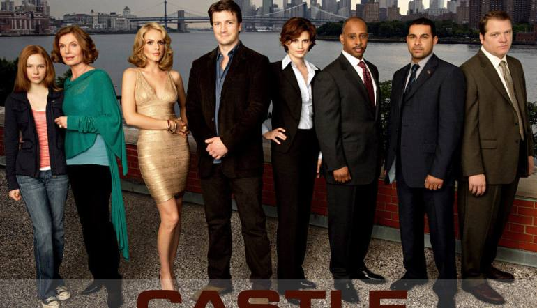 Castle TV Series cast