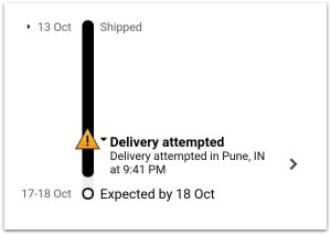Amazon Order Delayed