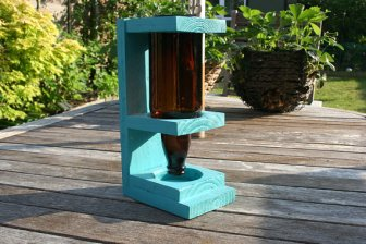 An A Tully Design birdfeeder crafted for life