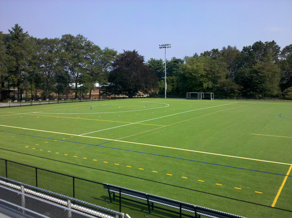 Artificial Turf Field Hockey Fields From A Turf