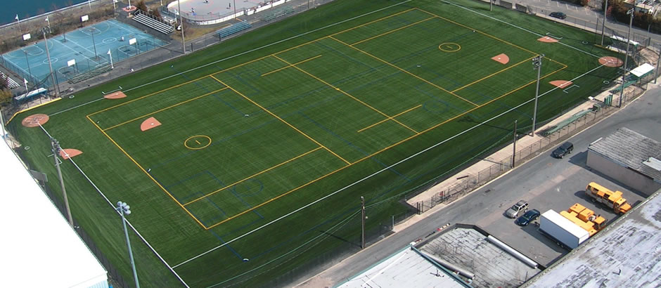 turf system designs for the community and those who get paid to play