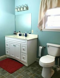How to Change a Bathroom Vanity - A Turtle's Life for Me