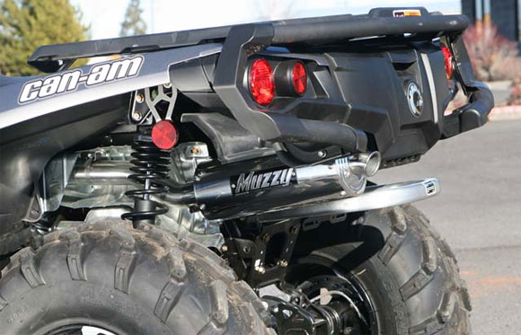muzzys introduces dual exhaust system