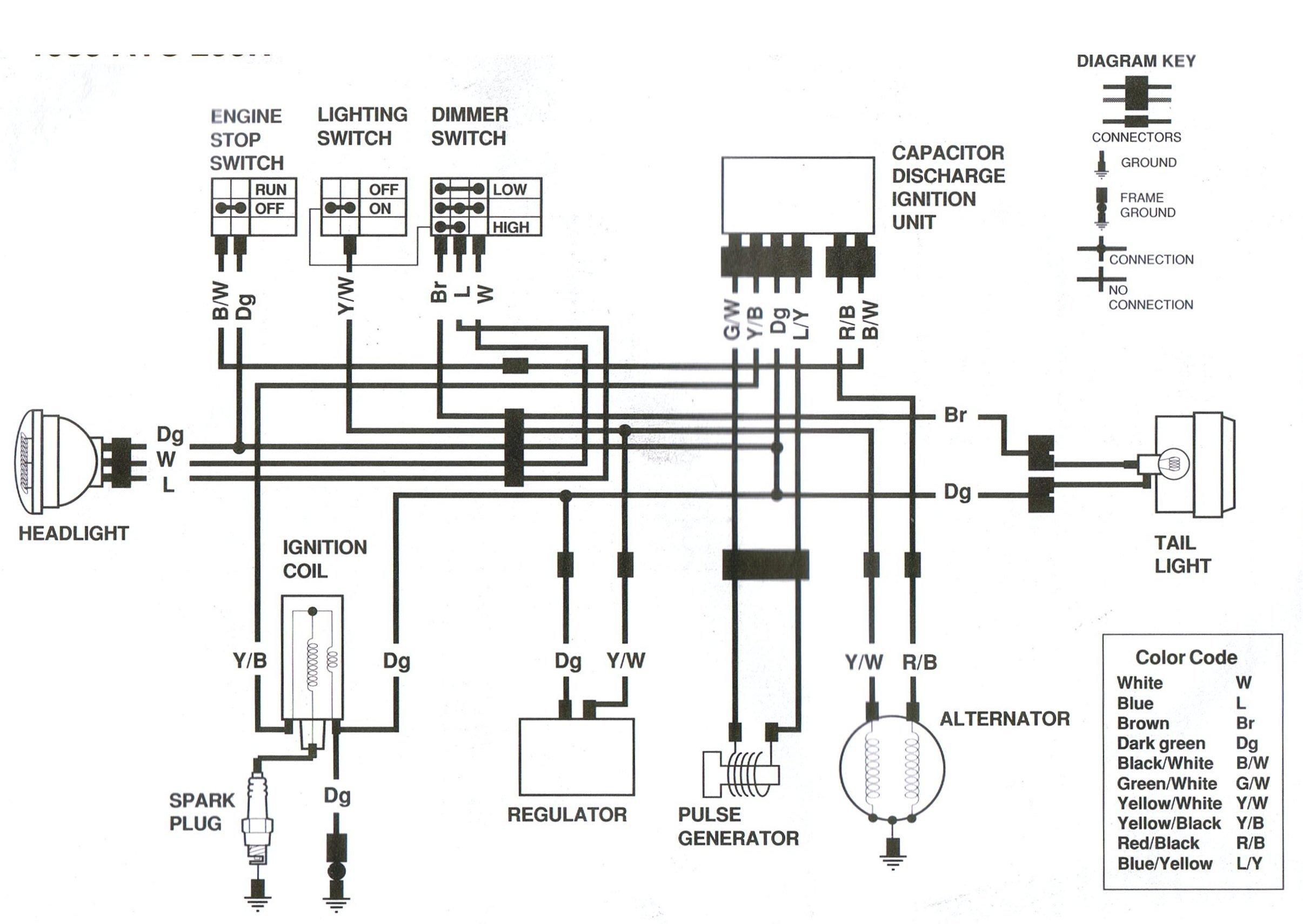 250r wiring diagram.