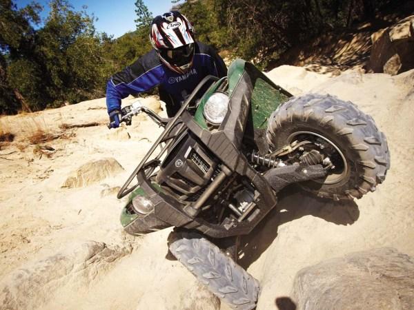 Yamaha Grizzly Rock Climbing