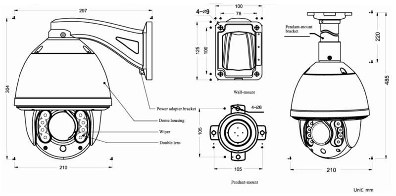 EPTZ-35X-IR, ATV Research 35X Optical Zoom, 650TVL, CVBS