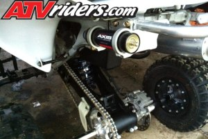 Quad of the Month  October 2012  Bobby Eidens' 2005 Honda 450R ATV