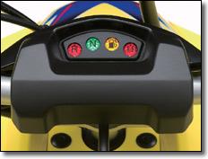2009 Luces Suzuki LT-Z400 quad deportivo indicadoras ATV