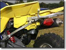2009 Suzuki LT-Z400 ATV Quad Sport Sub-Frame