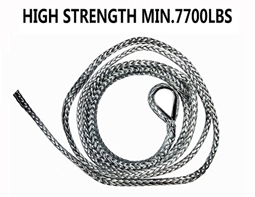 ATV Snow Plow Lift Rope, Synthetic Winch Rope, UTV Rope
