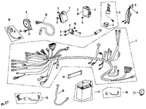 Kazuma Atv Motor Mini ATV Motor Wiring Diagram ~ Odicis
