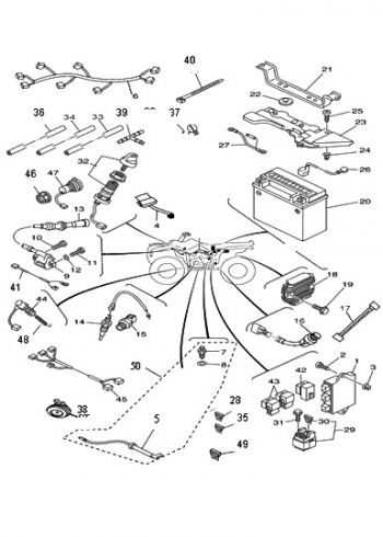 Baja 50 Atv Wiring Diagram Baja 50Cc Four Wheeler Wire