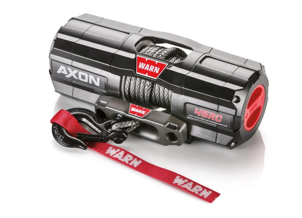 medium resolution of installation of the warn axon 45 rc winch