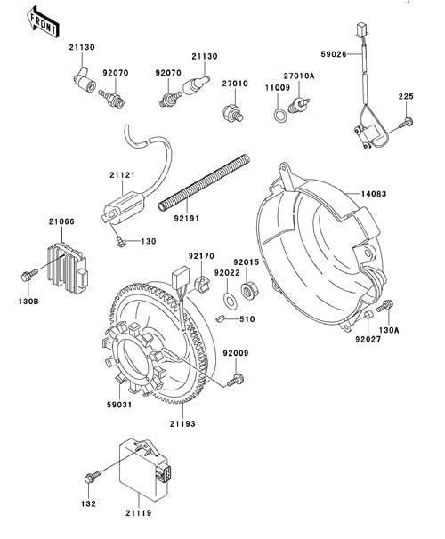 wiring diagram of kawasaki aura