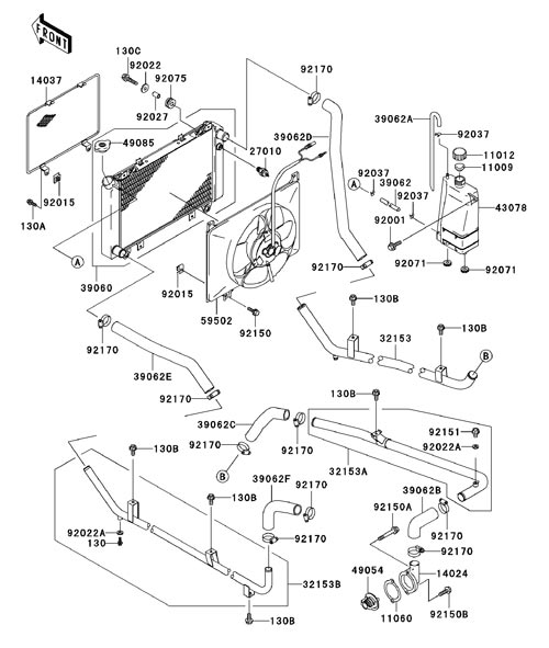 Kawasaki Mule 2510 Parts Diagram : 32 Wiring Diagram