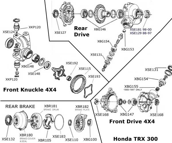 Honda Rancher 350 Parts Diagram. Honda. Wiring Diagram Images