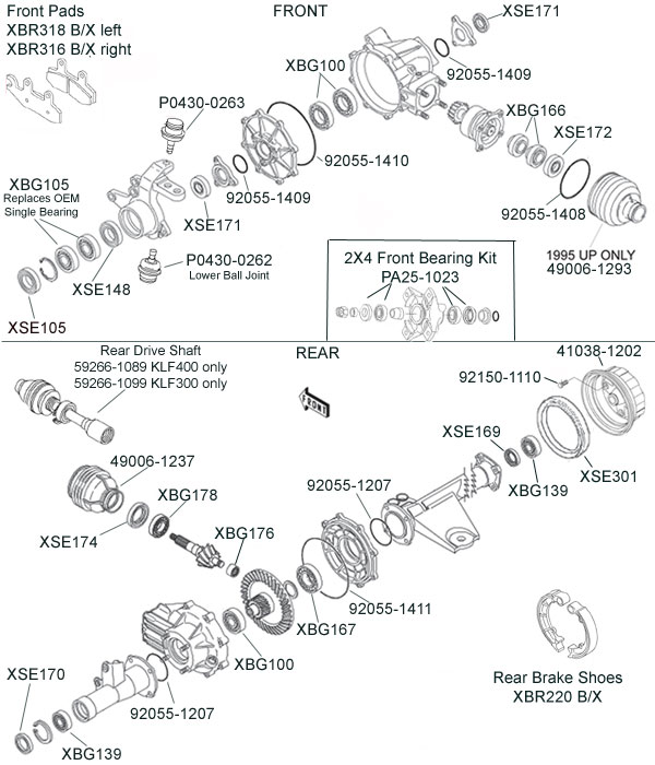 Kawasaki 400 Atv Wiring Diagram Photos For, Kawasaki, Free