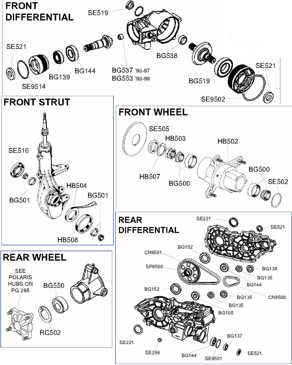 Suzuki 4 Wheeler Parts Diagrams